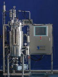 70L mechanical bottom stirring stainless steel fermenter
